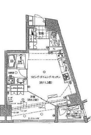 サンクタス市ヶ谷富久町イーストタワー / 702 部屋画像1