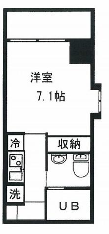KDXレジデンス御徒町(旧ヒューマンハイム御徒町) / 3階 部屋画像1