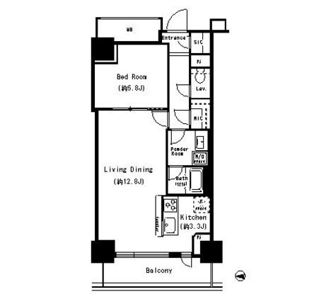 キャナルスクウェア豊洲 / 4階 部屋画像1
