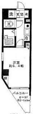シンシア本郷三丁目 / 9階 部屋画像1