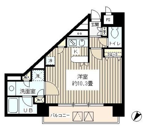 SUN恵比寿 / 701 部屋画像1