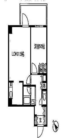 レジディア文京音羽 (旧)パシフィックレジデンス文京音羽 / 4階 部屋画像1