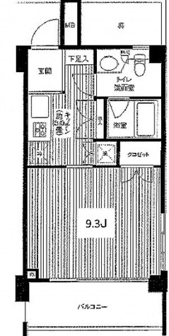 ユニテ・ド・ブラン (石川町2) / 406 部屋画像1