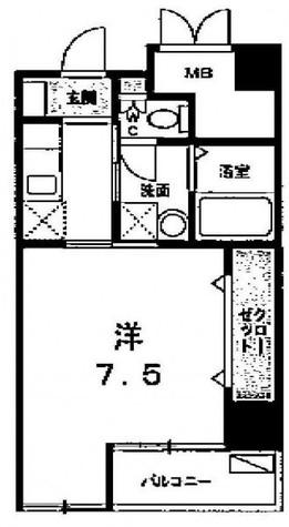 ブルーグレイス馬込 / 5階 部屋画像1