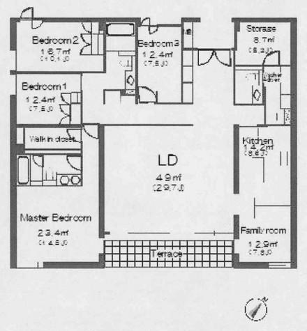 松濤ヒルトップハウス / 2階 部屋画像1