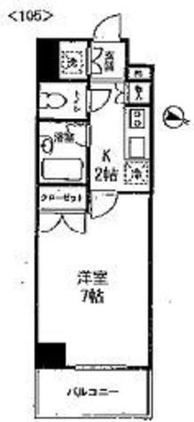 コンフォリア・リヴ小石川 / 105 部屋画像1