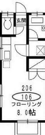 ツウィンガーデン駒沢 / 1階 部屋画像1