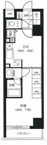 エクメーネ日本橋 / 3階 部屋画像1