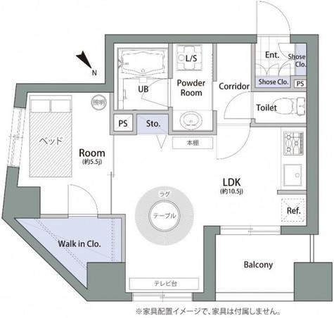 アムス八丁堀Ⅰ / 11階 部屋画像1