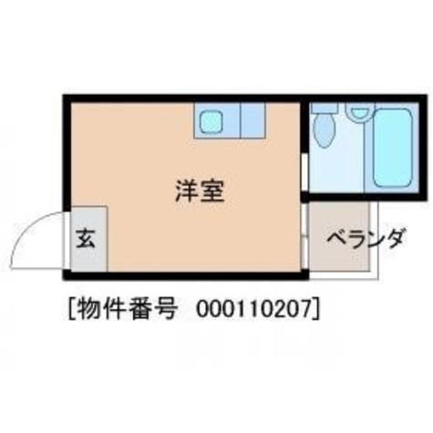 トップルーム目黒(TOPROOM) / 407 部屋画像1