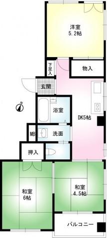 秋桜林 / 203 部屋画像1