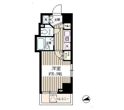 グレース早稲田 / 3階 部屋画像1