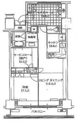 辰巳 11分マンション / 316 部屋画像1