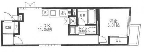i-LAND渋谷東(アイランド渋谷東) / 302 部屋画像1