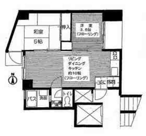 パサージュ京西 / 602 部屋画像1