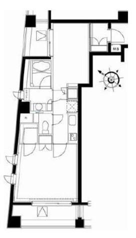 デュオステージ日本橋人形町 / 10階 部屋画像1