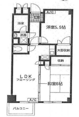 アーバンコートサカスⅢ / 4階 部屋画像1