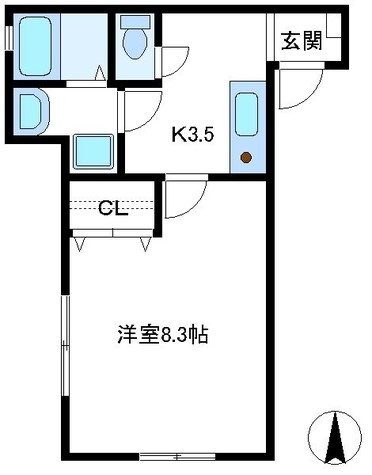 K3.5 洋室8.3