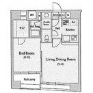 人形町デュープレックスリズ / 1403 部屋画像1