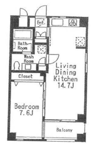 学芸大学 10分マンション / 3階 部屋画像1