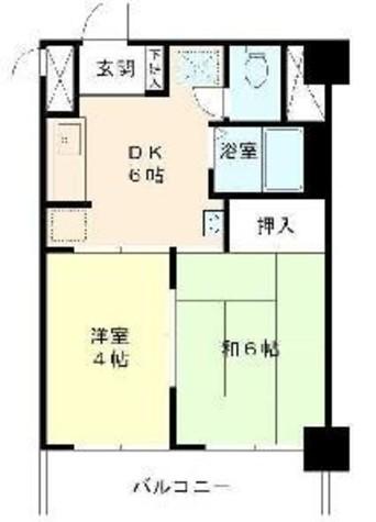 東建ニューハイツ九段 / 9階 部屋画像1