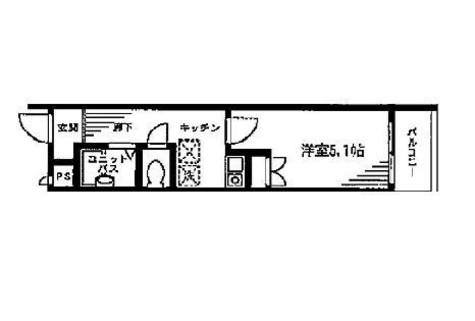 タケオグレース御苑 / 3階 部屋画像1