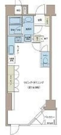 リエトコート四谷 / 6階 部屋画像1