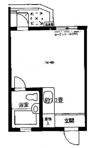 ブリリアンス目黒祐天寺 / 2F 部屋画像1