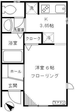 ウィズクライン / 102 部屋画像1