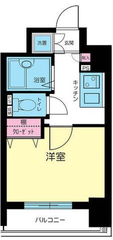 パークウェル湯島 / 9階 部屋画像1