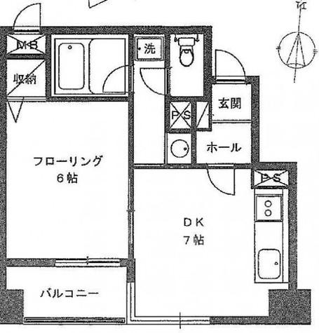 ライツェント広尾 / 5階 部屋画像1
