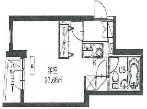 HF八丁堀レジデンスⅢ(旧シングルレジデンス八丁堀Ⅲ) / 3階 部屋画像1