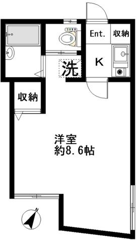 ステージK / 102 部屋画像1