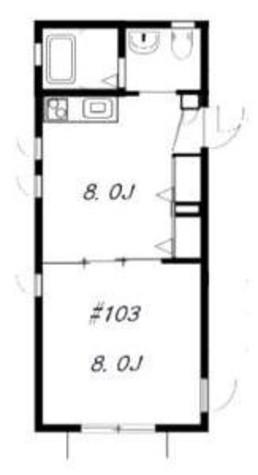 ブランシェ六本木 / 103 部屋画像1