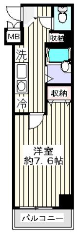 OLIO湯島 (オリオ湯島) / 4階 部屋画像1