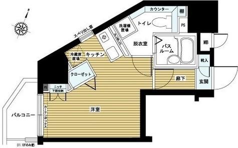 フェニックス笹塚駅前 / 11階 部屋画像1