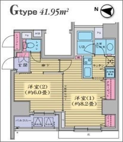 HF日本橋レジデンス 【旧ジョイシティ日本橋】 / 2階 部屋画像1