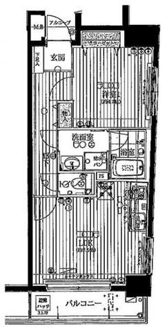 ベスト御茶ノ水 / 2階 部屋画像1