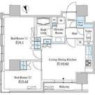 ベルファース芝浦タワー / 13階 部屋画像1