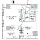 ベルファース芝浦タワー / 19階 部屋画像1
