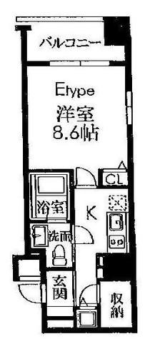 レジディア築地 / 6階 部屋画像1