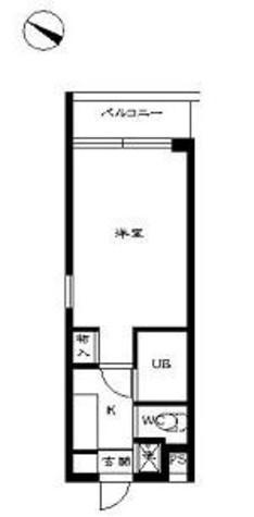 スカイコート学芸大学壱番館 / 2階 部屋画像1