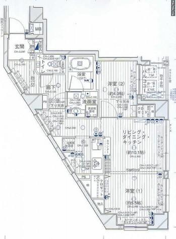 デュオ・スカーラ品川中延 / 8階 部屋画像1