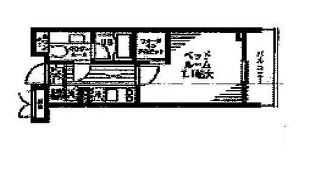 レジディア文京本駒込 / 8階 部屋画像1