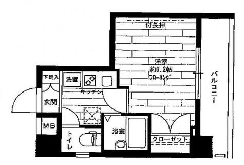 ステージファースト祐天寺 / 203 部屋画像1