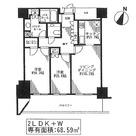 田町 5分マンション / W508 部屋画像1
