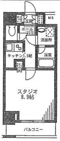 レジディア九段下 / 3階 部屋画像1