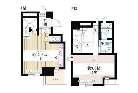 ツインビュー御茶の水 / 6階 部屋画像1