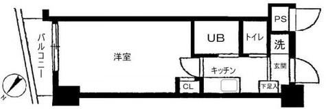 スカイコート目白台 / 6階 部屋画像1