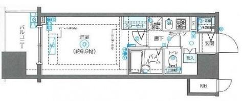 フェニックス川崎弐番館 / 4階 部屋画像1